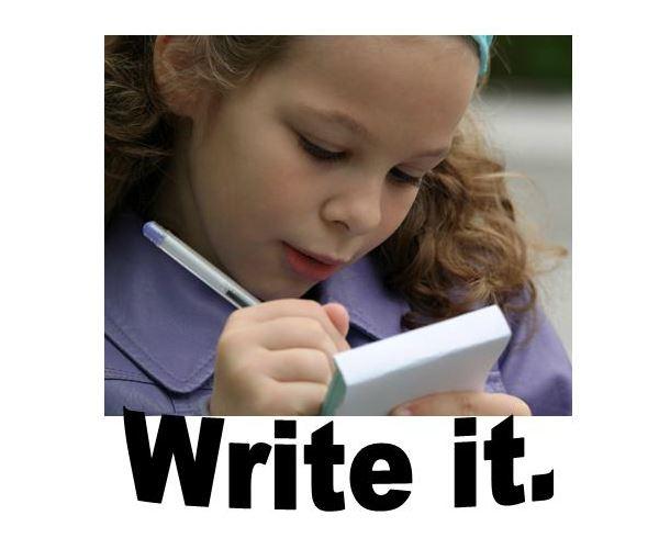 write it widget